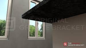 Support For Granite Bar Top Side Wall Hidden Countertop Support Bracket U2013 The Original Granite