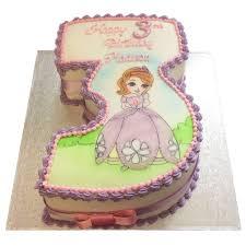 sofia number cake flecks cakes