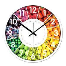 pendule moderne cuisine horloge cuisine moderne design 17 murale 11 pendule de en