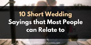 Popular Wedding Sayings Wedding Wishes Archives Best Wishes And Quotes Com Words From