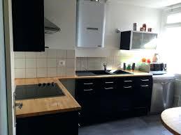meuble de cuisine noir laqué meuble de cuisine noir laqué idée de modèle de cuisine