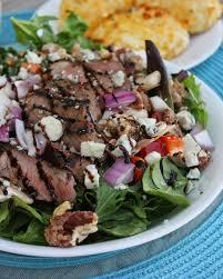 sliced steak salad horseradish dressing recipe restaurant copycat