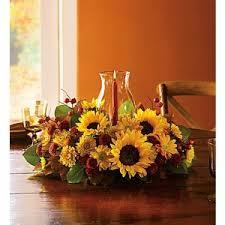Sunflower Centerpiece Thanksgiving Usa Flowers Universal City Tx Bloomingtons