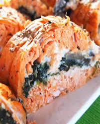 cuisiner filet de truite filets de truite saumonée farcis aux chignons et épinards pour
