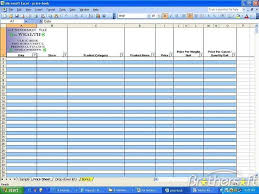 List Of Spreadsheet Software Free Grocery Price Book Savings Spreadsheet Grocery
