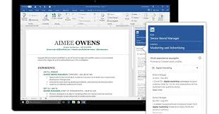 resume linkedin microsoft integrates linkedin with word to help you write a resume
