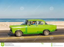 opel green green vintage opel car havana editorial stock image image 66724054