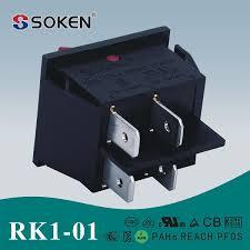 soken 12v led on off dpst 4 pin cqc rocker switch t85 buy 12v