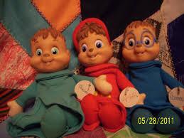 alvin chipmunks stuffed figures alvin