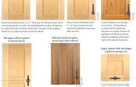 cabinet door knob placement cabinet door hinge placement cabinet door hardware placement