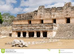 Mayan Ruins Mexico Map by Maya Ruins Of Uxmal Stock Photo Image 58136523
