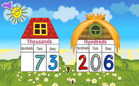 kids math place value android apps on google play