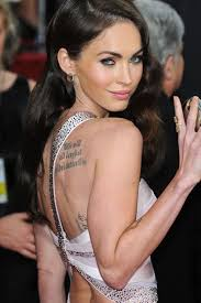 megan fox s 6 tattoos meanings style