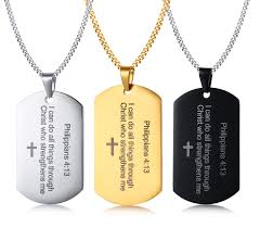 steel dog tag necklace images Wholesale stainless steel dog tag necklace for him jc fashion jpg