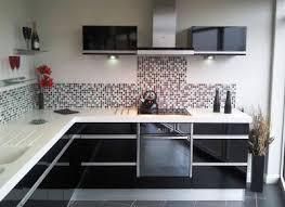 meuble de cuisine pas chere meubles cuisine cuisine integree moderne recente blanc laque