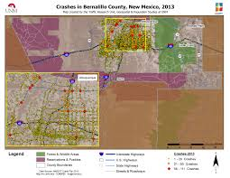 Santa Fe Map 2013 Maps Gps Traffic Research Unit The University Of New Mexico