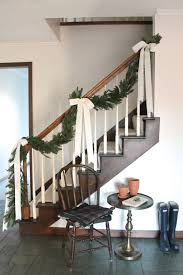 Banister Decor 60 Best Christmas Garland Ideas Decorating With Holiday Garlands