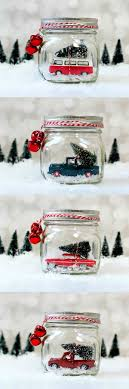 snow globe l post mason jar snow globes vintage cars trucks globe jar and snow