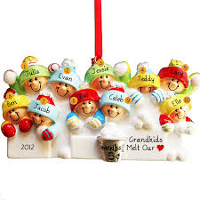 personalized ornaments for and more snowball fight