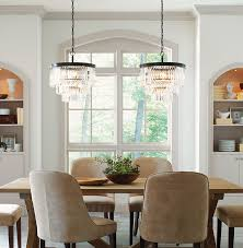 Glass Chandeliers For Dining Room Chandeliers Vs Cut Glass The Mine