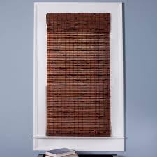 Roman Shade Arlo Blinds 04tbn Java Vintage Bamboo Roman Shade The Mine