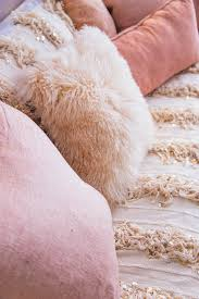 Pink Bedroom Cushions - before and after calypso maison moroccan wedding blanket pink