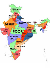Map Of India With States by Map Of India Showing States You Can See A Map Of Many Places On