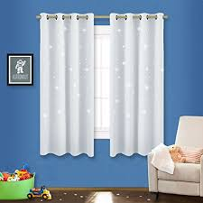 Room Darkening Curtains For Nursery Bedroom Room Darkening Curtains Nicetown Zodiac