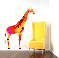 Giraffe Wall Decals For Nursery Giraffe Wall Decal Roselawnlutheran