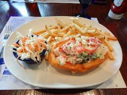 cuisine le gal seafood lobster roll plate picture of sea foods
