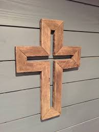 wooden crosses rustic wooden cross