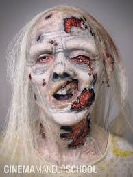 theatrical halloween makeup zombie by cinemamakeupschool haunting make up and hair