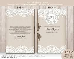 wedding booklet templates the 25 best wedding ceremony booklet templates ideas on