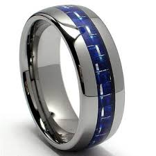 blue titanium wedding band blue titanium wedding bands the wedding specialiststhe wedding