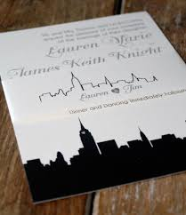 wedding invitations new york modern wedding invitation new york wedding invitations skyline