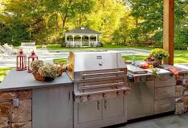 Stainless Doors For Outdoor Kitchens - kitchen amusing out door kitchens outdoor kitchen designs