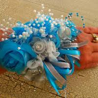 Turquoise Corsage Best Prom Wrist Corsage Products On Wanelo