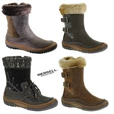 merrell womens boots uk merrell decora womens boots winter fur lined boots