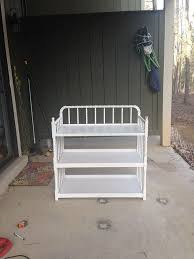 Metal Changing Table Changing Table Converted To Desk Hometalk