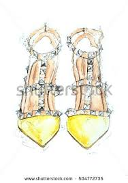shoes drawing stock images royalty free images u0026 vectors