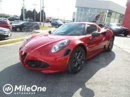 2017 alfa romeo 4c for sale in seattle wa cars com