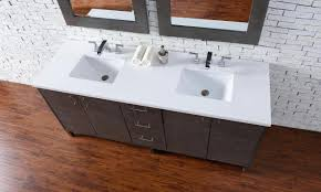 abstron 72 inch silver oak finish bathroom vanity stone