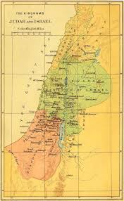 A New Map Of Jewish by Bible Maps From The Israelites To Present Time