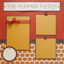 scrapbook inserts the pumpkin patch 12x12 premade scrapbook pages fall autumn via