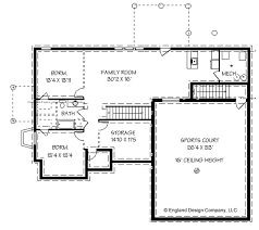 Slab Foundation Floor Plans House Plans With Basketball Courts Inside England House Plans Blog