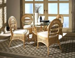 indoor wicker dining table wicker kitchen sets wicker kitchen table sets unlockhton info