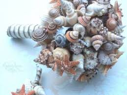 Seashell Bouquet 14 Alternative Bridal Bouquets Thefeministbride