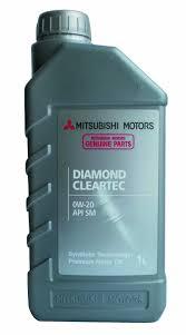 mitsubishi diamond mitsubishi diamond cleartec sae 0w 20 1 l ato24