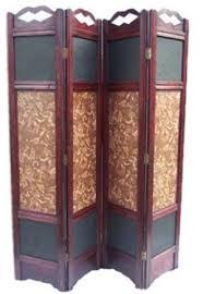amazon com little angel wood room divider screen 4 panel wooden