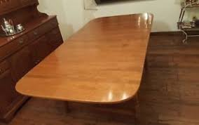 Cherry Dining Table Vintage Large Walter Of Wabash Cherry Drop Leaf Dining Table W 2